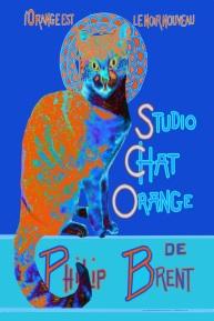 Edgy Orange Black Chat ~ Philip Brent